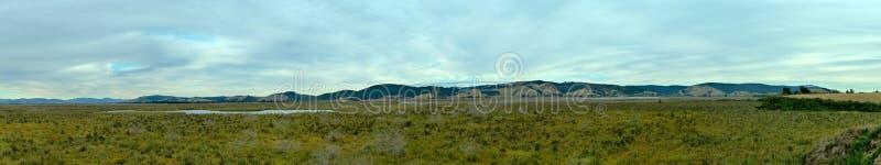 Sinclair Wetlands Panorama stock images