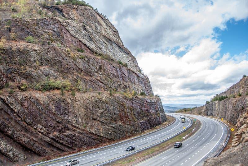Sinclinale Sideling alla collina, Maryland immagini stock libere da diritti