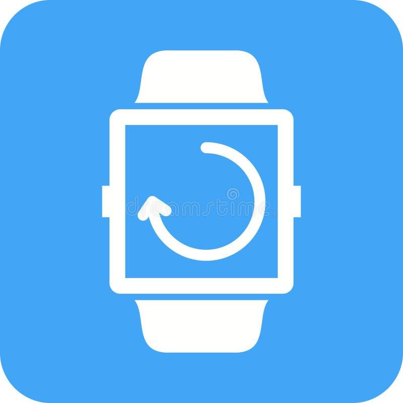 Sincronização do relógio ilustração do vetor