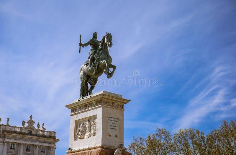 Sindaco della plaza, Madrid, Spagna immagini stock libere da diritti