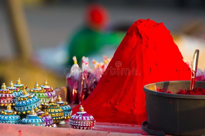 Sindoor royalty free stock photo