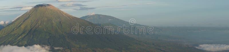 Sindoro горы стоковые фотографии rf