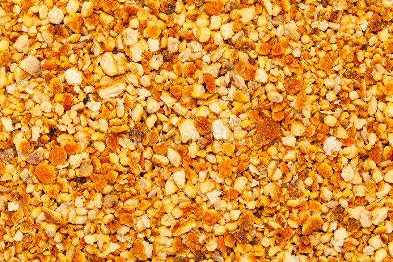Sinensis organico asciugato all'aria di Ã- dell'agrume delle scorze d'arancia fotografia stock libera da diritti
