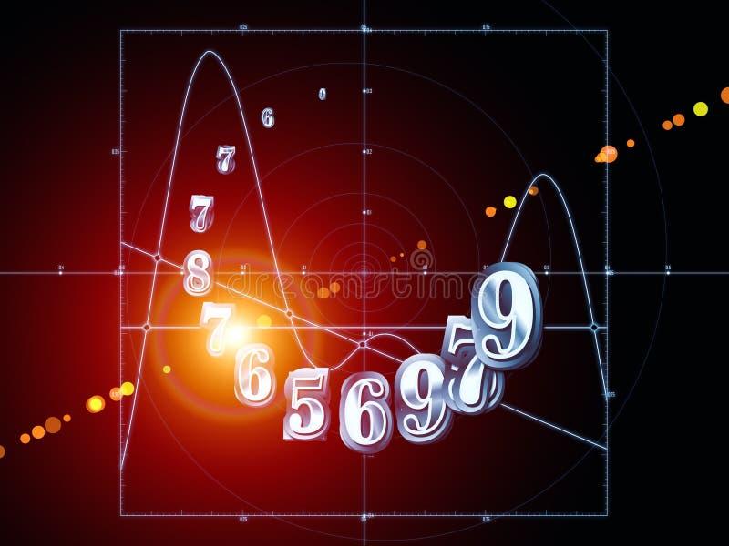 Sinergias de la geometría stock de ilustración