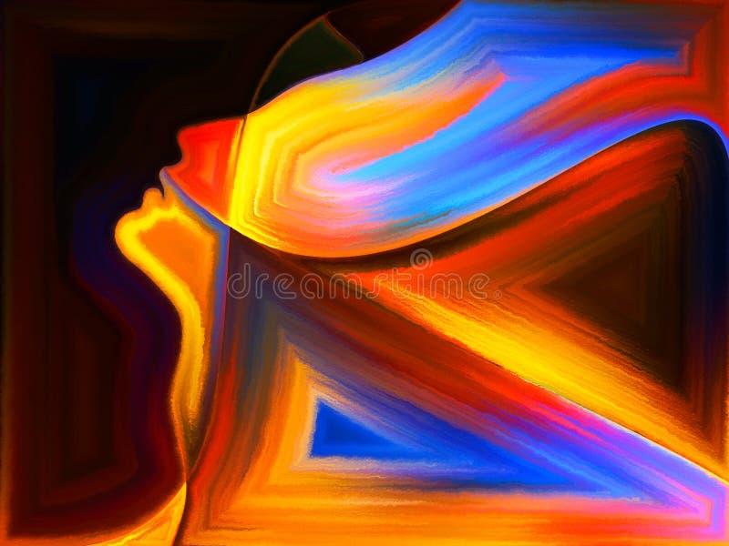 Sinergie delle passioni illustrazione vettoriale