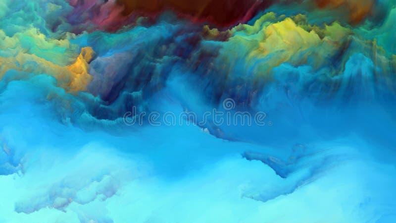 Sinergie di atmosfera straniera illustrazione vettoriale