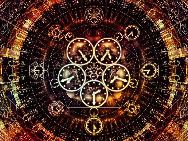 Sinergie di cronologia royalty illustrazione gratis