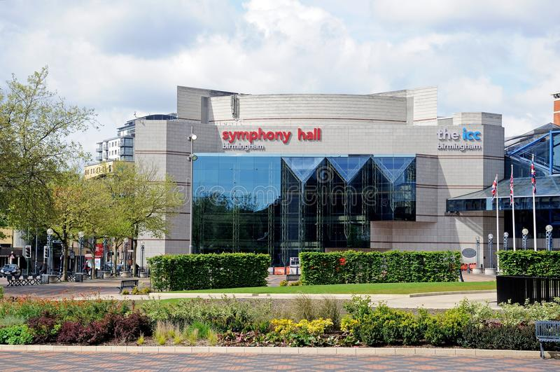 Sinfonía Pasillo, Birmingham imágenes de archivo libres de regalías