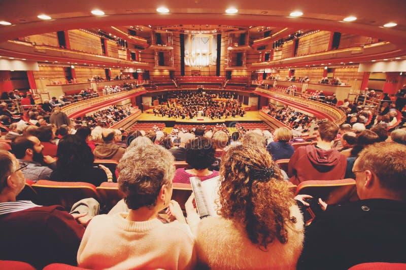 Sinfonía Pasillo de Birmingham imagen de archivo libre de regalías