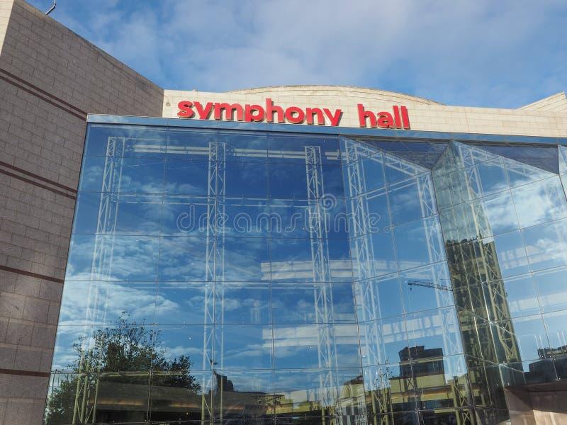 Sinfonía Pasillo en Birmingham imagen de archivo