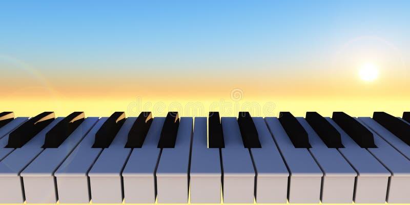 Sinfonia ilustração royalty free