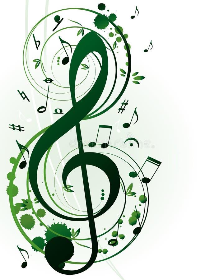 Sinfonia da mola ilustração stock