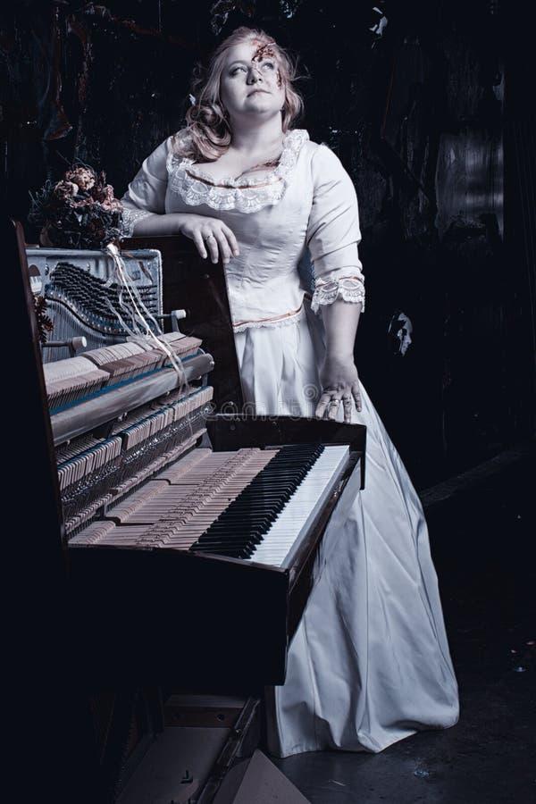 Sinfonia da noite da morte foto de stock royalty free