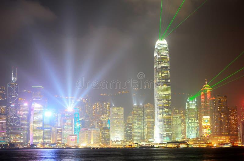 Sinfonia degli indicatori luminosi fotografia stock