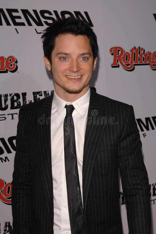 Sinful,Elijah Wood stock photo