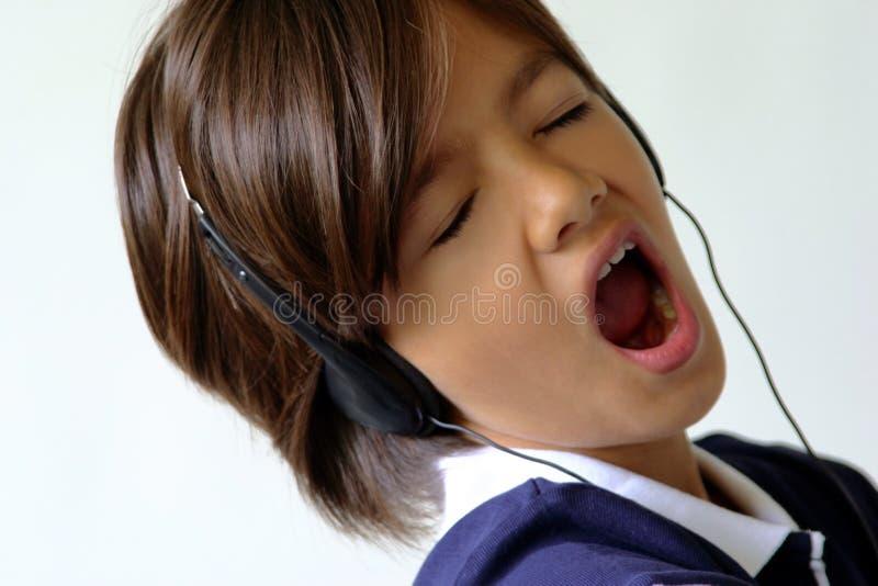 Sing Girl Sing royalty free stock photography