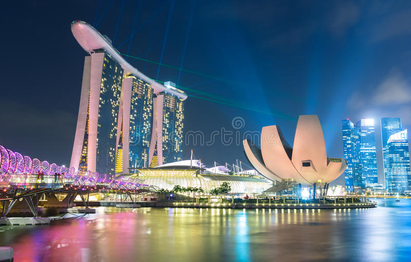Singapore royalty-vrije stock foto's