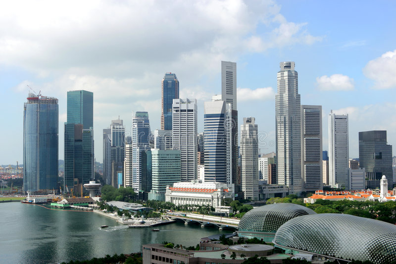 singapore zdjęcie stock