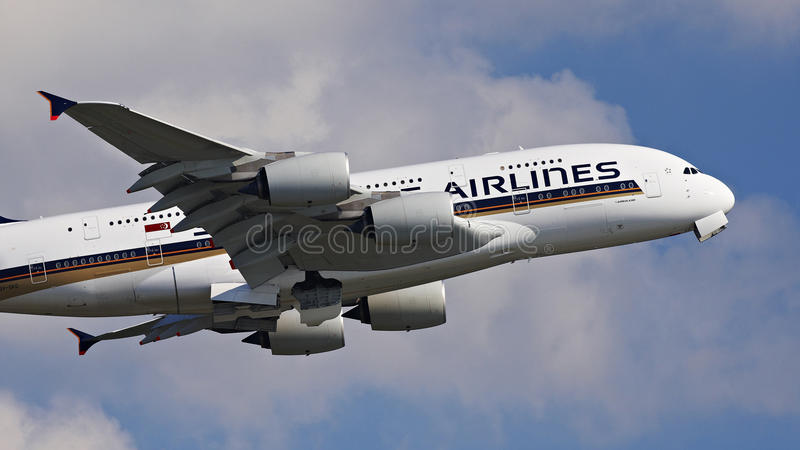 Download Singapore Airline A380 Editorial Stock Photo - Image: 38811208
