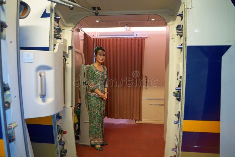 Singapore Airlines imagen de archivo libre de regalías
