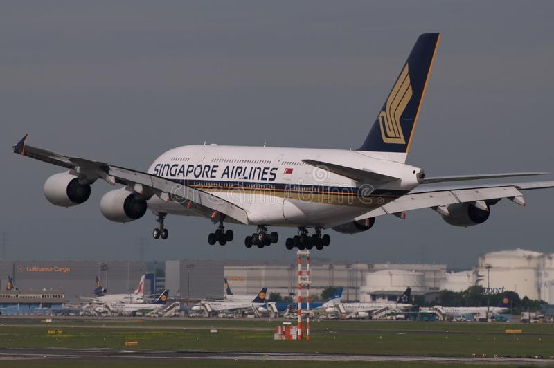 Download Singapore Airlines Boeing editorial image. Image of airport - 24842925