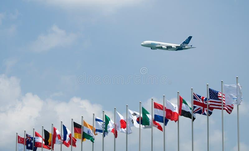 Singapore Airshow 2008 stock images