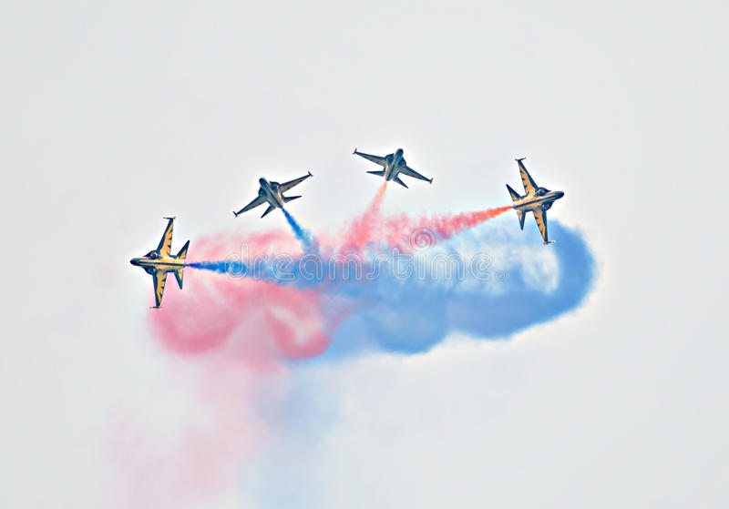 Singapore Airshow 2014 fotografia stock libera da diritti