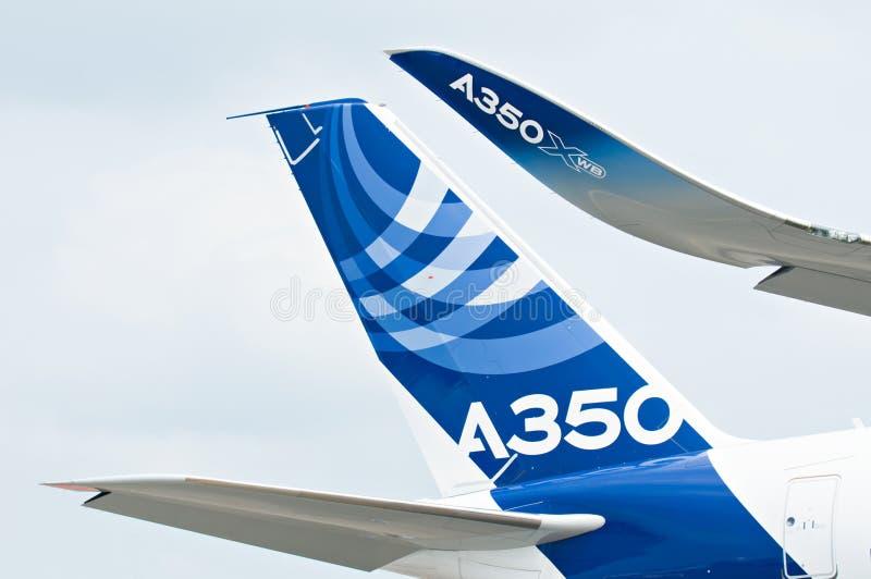 Singapore Airshow 2014 royalty-vrije stock fotografie