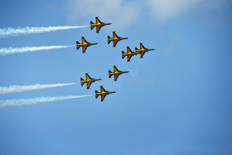 Singapore Airshow 2014 royalty-vrije stock afbeelding