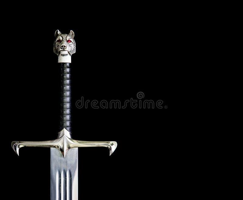 SINGAPORE-19 APR 2017: jon snow sword Longclaw royalty free stock image