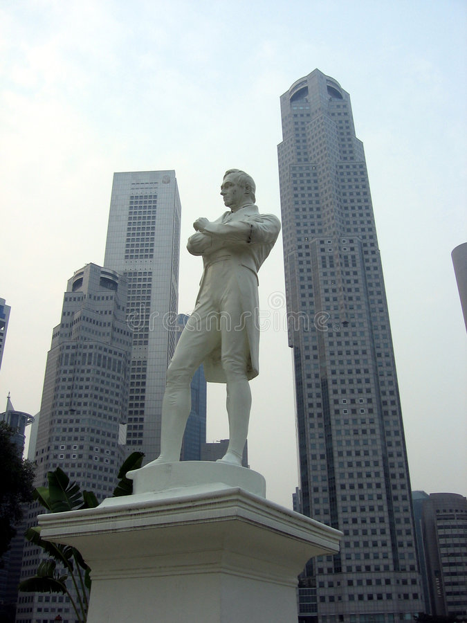 Download Singapore. In a big way stock image. Image of tower, white - 4838441