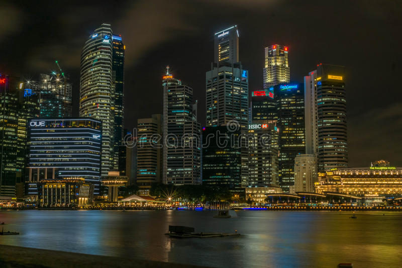 Singapore CBD foto de stock