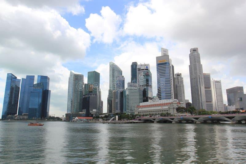 Singapore CBD royalty free stock photos