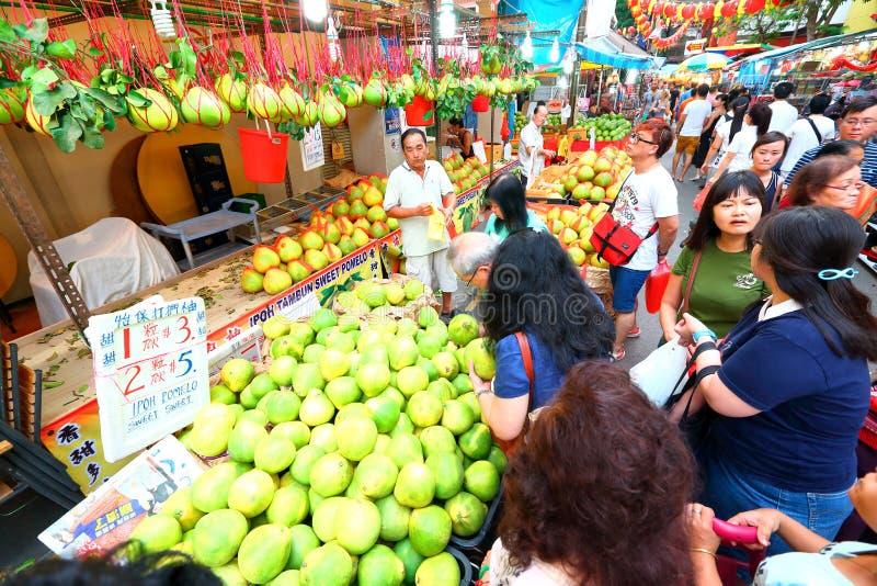 Singapore Chinatown imagem de stock