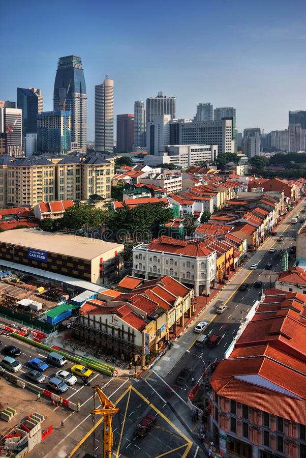 Download Singapore Chinatown District Stock Image - Image: 19487651