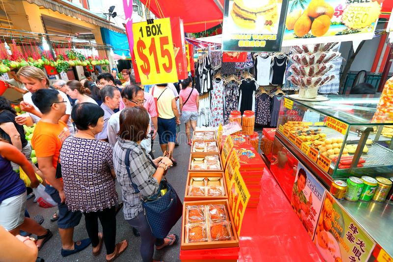 Singapore Chinatown stock images