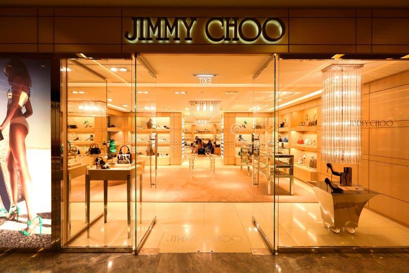 Singapore: Choo di Jimmy fotografia stock