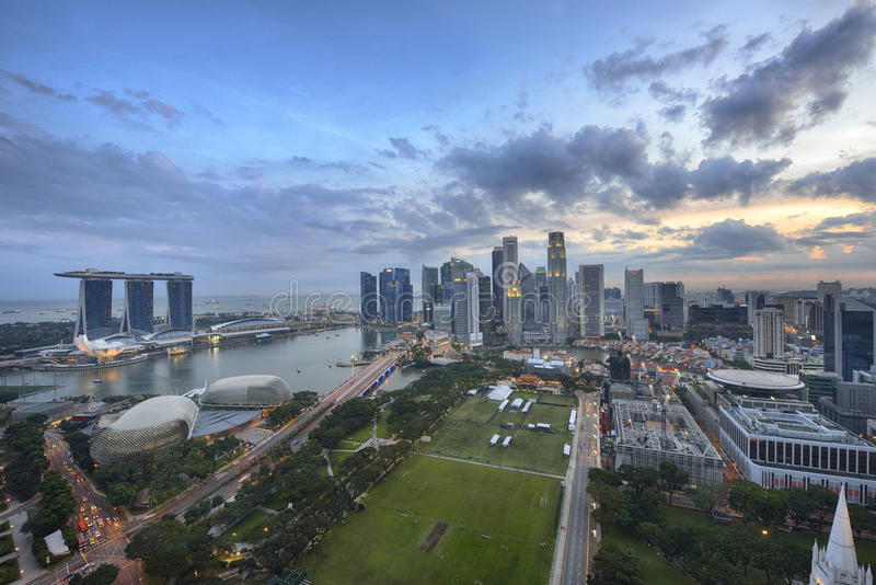 Download Singapore City Royalty Free Stock Photography - Image: 29570447