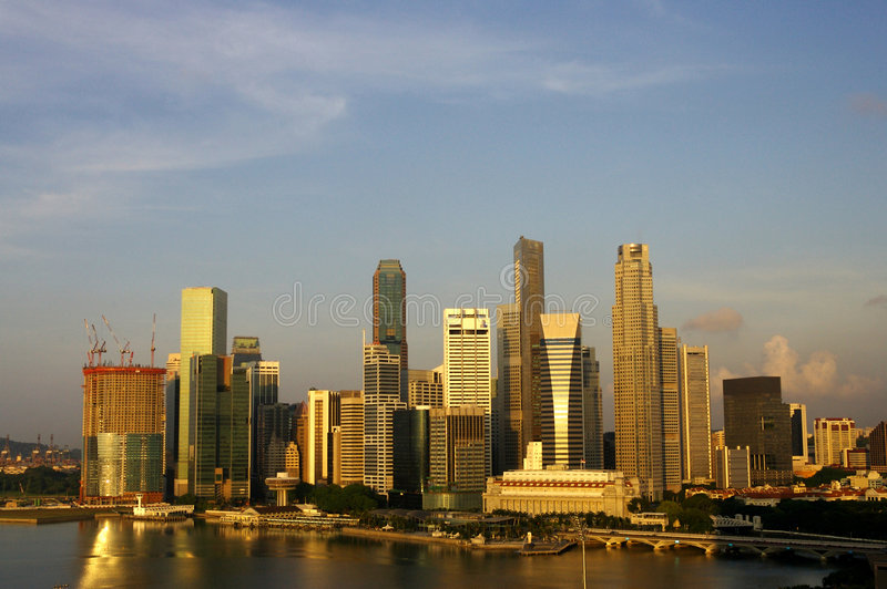 Singapore City royalty free stock photography