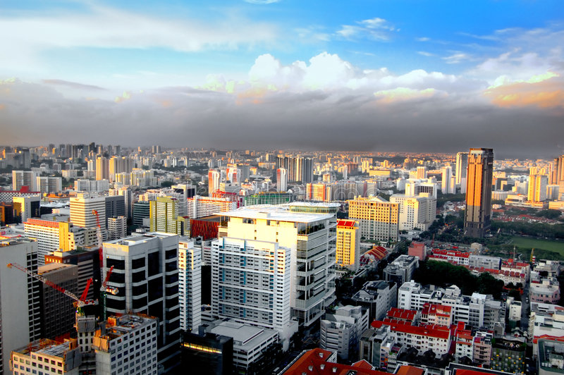 Singapore City royalty free stock photography