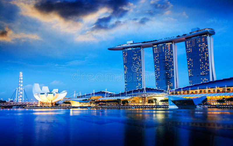 Download Singapore City Royalty Free Stock Image - Image: 35655336