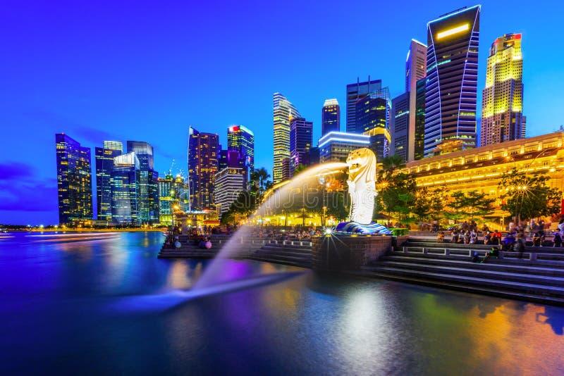 Singapore City, Singapore. stock photo