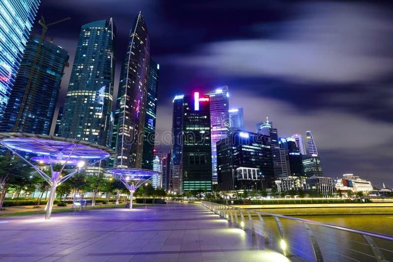 Download Singapore city skyline stock image. Image of modern, asia - 25699459