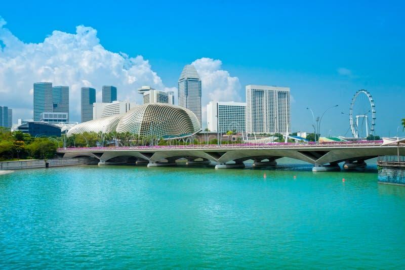 Download Singapore city skyline stock photo. Image of exterior - 35118076