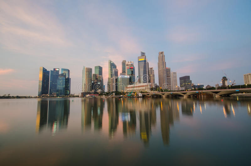 Download Singapore City Skyline View Of Business District Editorial Photo - Image of centre, beautiful: 31921701