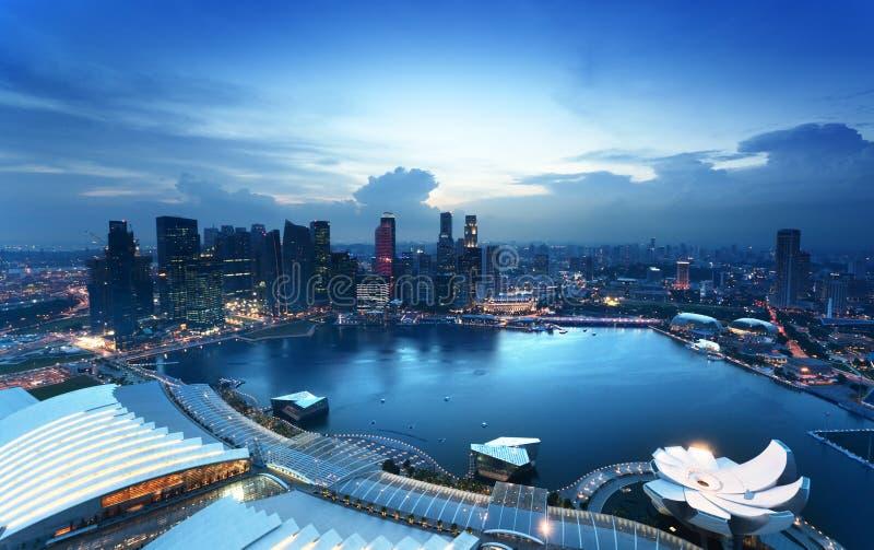 Download Singapore city stock image. Image of marina, light, asia - 31054147