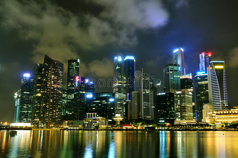 Download Singapore Cityscape 1 editorial image. Image of cityscape - 24574605
