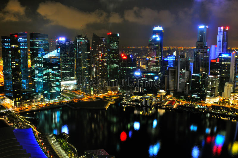 Download Singapore Cityscape 2 editorial photography. Image of economy - 24574637