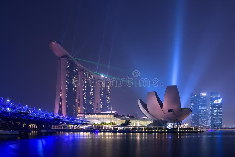Singapore cityscape royalty free stock photography