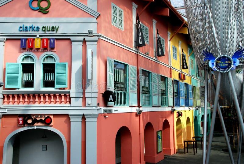 Singapore: Colourful Clarke Quay